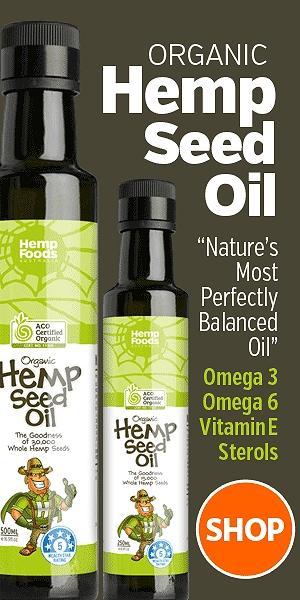 hemp oil organic cold pressed australia