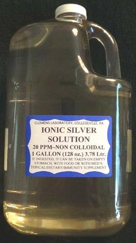 Colloidal Ionic Silver